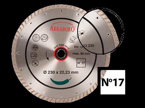 ABRABORO® Turbo gyémánttárcsa No.17