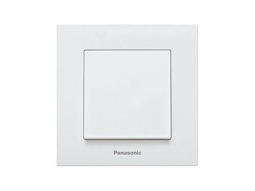 Panasonic Karre Plus két pólusú kapcsoló, keret nélküli, fehér