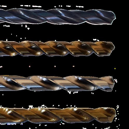 HSS fémfúrók, DIN 338 0.3 - 1.9 mm-ig