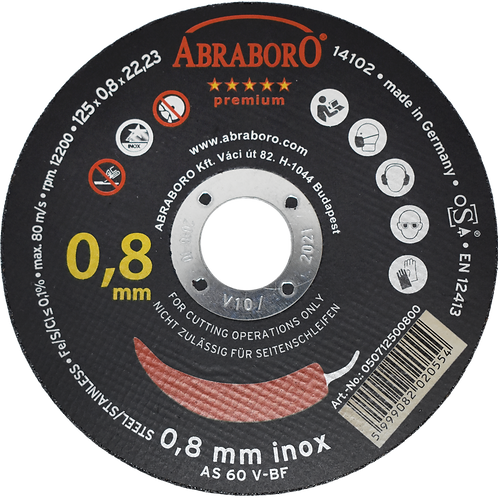 ABRABORO® Chili INOX GOLD EDITION