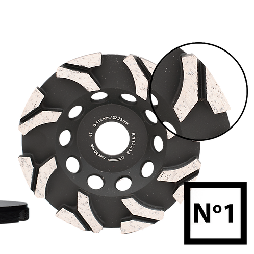 ABRABORO® Gyémántszemcsés betoncsiszoló No.1