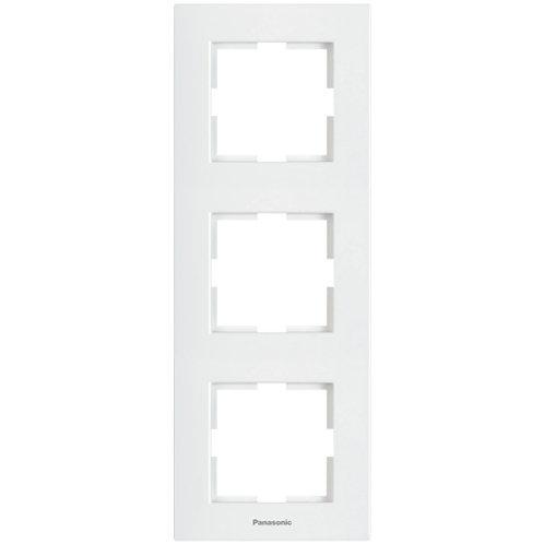 Panasonic Sorolókeret (3-as) függőleges, fehér, Panasonic feliratos