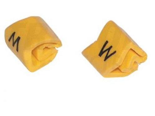 Vezetékjelölő készlet 1,5-4mm2,