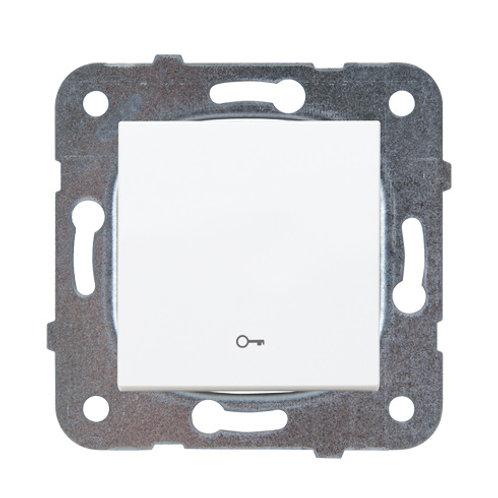 Panasonic Nyomókapcsoló kulcs jellel, keret nélkül, fehér