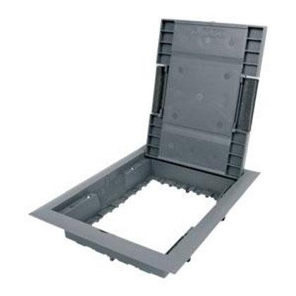 Padlódoboz keret 8 férőhelyes csapfedeles beépítő keret