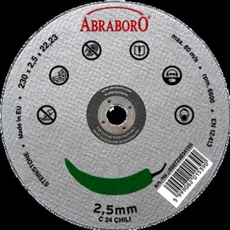 ABRABORO® Chili kővágó korongok