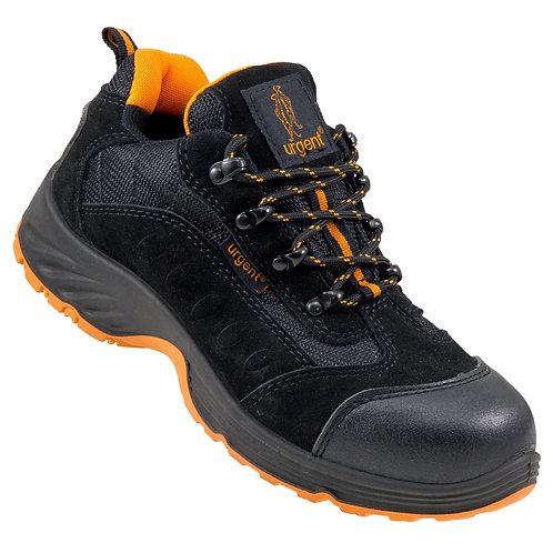 Urgent 210 S1 fekete munkavédelmi cipő