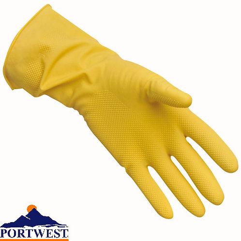 A800 latex kesztyű (háztartási) - sárga