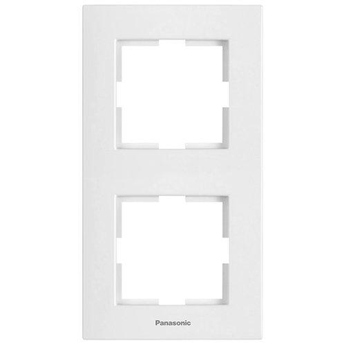 Panasonic Sorolókeret (2-es) függőleges, fehér, Panasonic feliratos