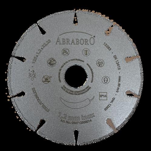 ABRABORO® INOX gyémántszemcsés vágókorong No.14