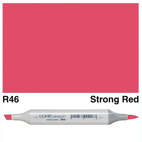 Copic Sketch Marker - R46 Strong Red