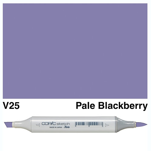 Copic Sketch Marker - V25 Pale Blackberry