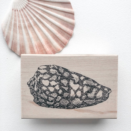 Shell 1 Wooden Stamp