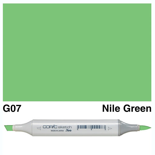 Copic Sketch Marker - G07 Nile Green