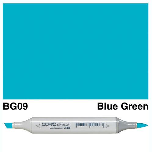 Copic Sketch Marker - BG09 Blue Green