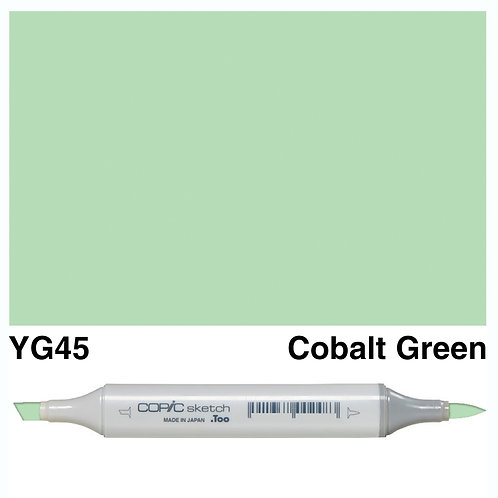 Copic Sketch Marker - YG45 Cobalt Green