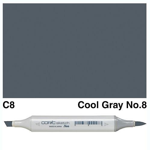 Copic Sketch Marker - C8 Cool Grey No.8