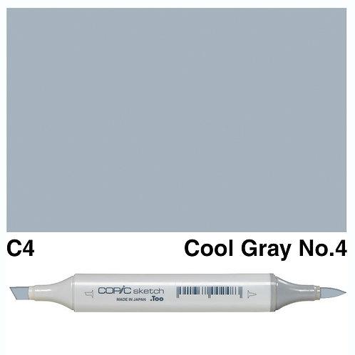 Copic Sketch Marker - C4 Cool Grey No.4