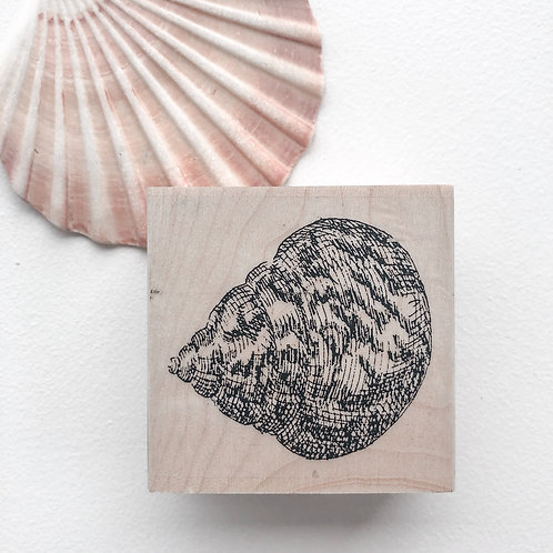 Shell 3 Wooden Stamp