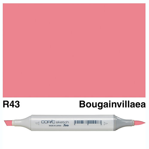 Copic Sketch Marker - R43 Bougainvillaea