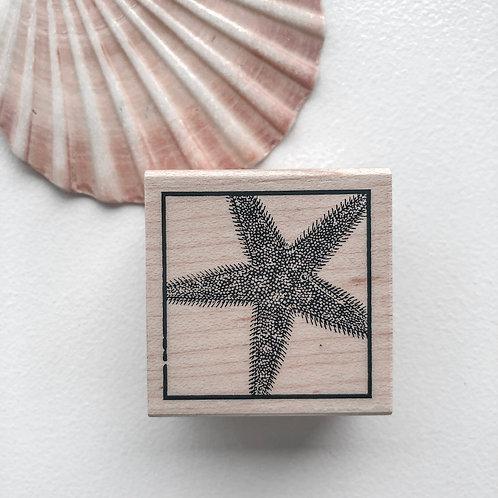 Starfish Wooden Stamp