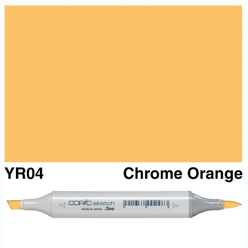 Copic Sketch Marker - YR04 Chrome Orange