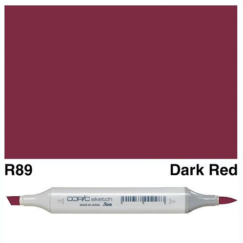 Copic Sketch Marker - R89 Dark Red