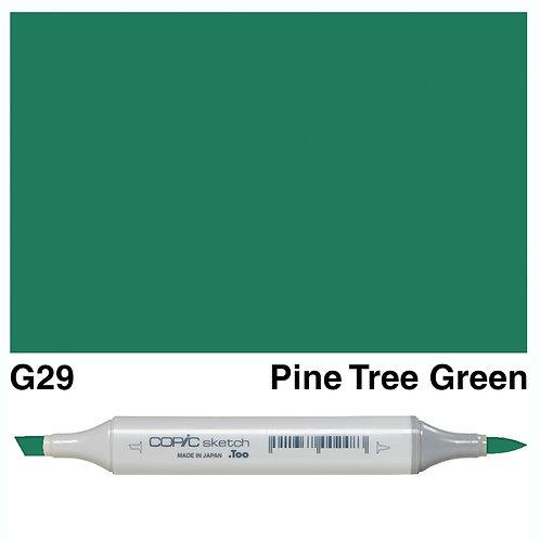 Copic Sketch Marker - G29 Pine Tree Green