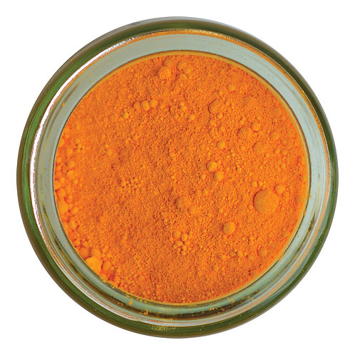 Cadmium Yellow Deep Dry Ground Pigment 120mL