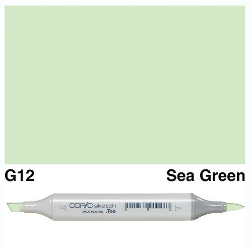 Copic Sketch Marker - G12 Sea Green