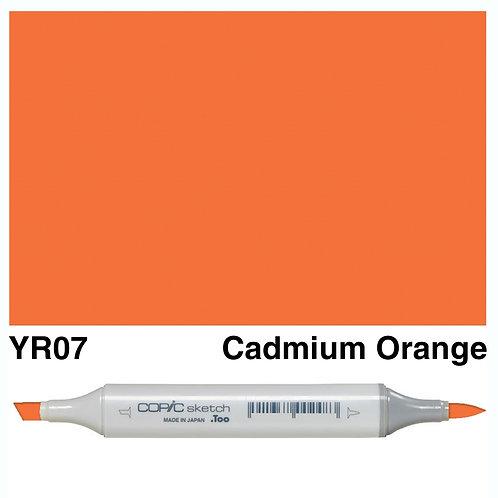 Copic Sketch Marker - YR07 Cadmium Orange