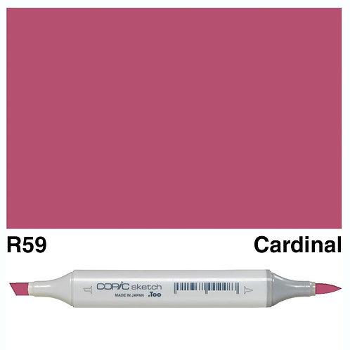 Copic Sketch Marker - R59 Cardinal