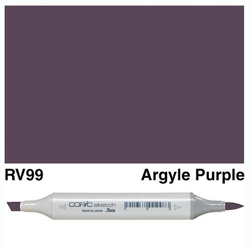 Copic Sketch Marker - RV99 Argyle Purple