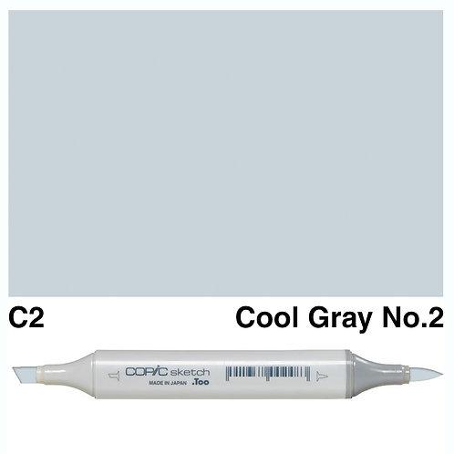 Copic Sketch Marker - C2 Cool Grey No.2