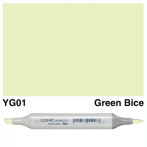 Copic Sketch Marker - YG01 Green Bice