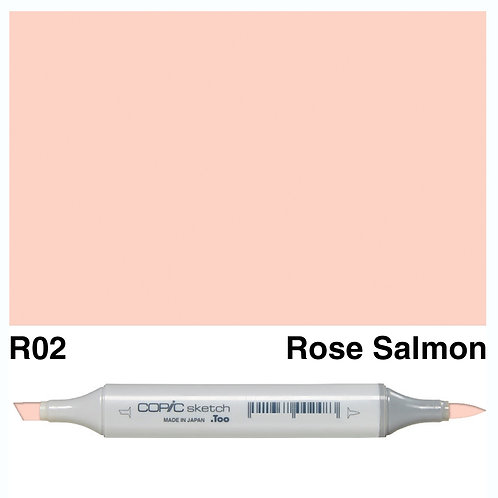 Copic Sketch Marker - R02 Rose Salmon