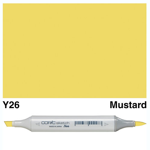 Copic Sketch Marker - Y26 Mustard