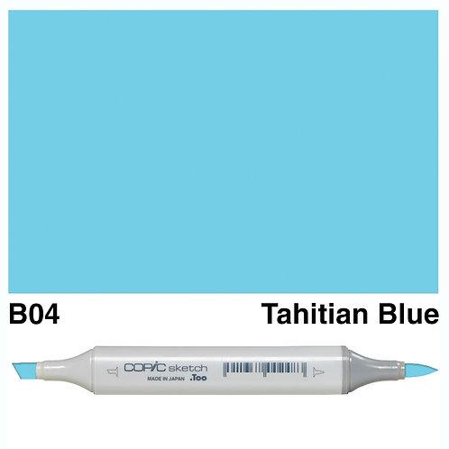 Copic Sketch Marker - B04 Tahitian Blue