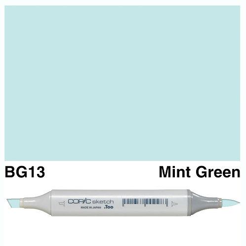 Copic Sketch Marker - BG13 Mint Green