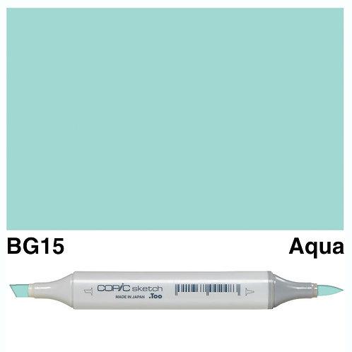 Copic Sketch Marker - BG15 Aqua