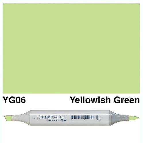 Copic Sketch Marker - YG06 Yellowish Green