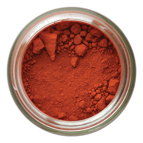 Red Oxide Dry Ground Pigment 120mL