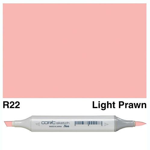 Copic Sketch Marker - R22 Light Prawn