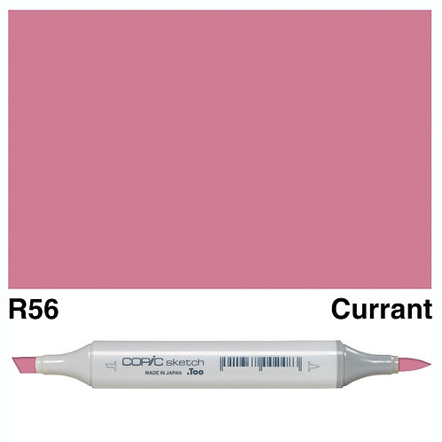 Copic Sketch Marker - R56 Currant