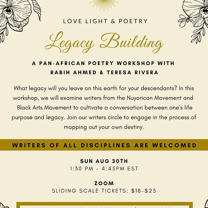 Legacy Building Poetry Workshop