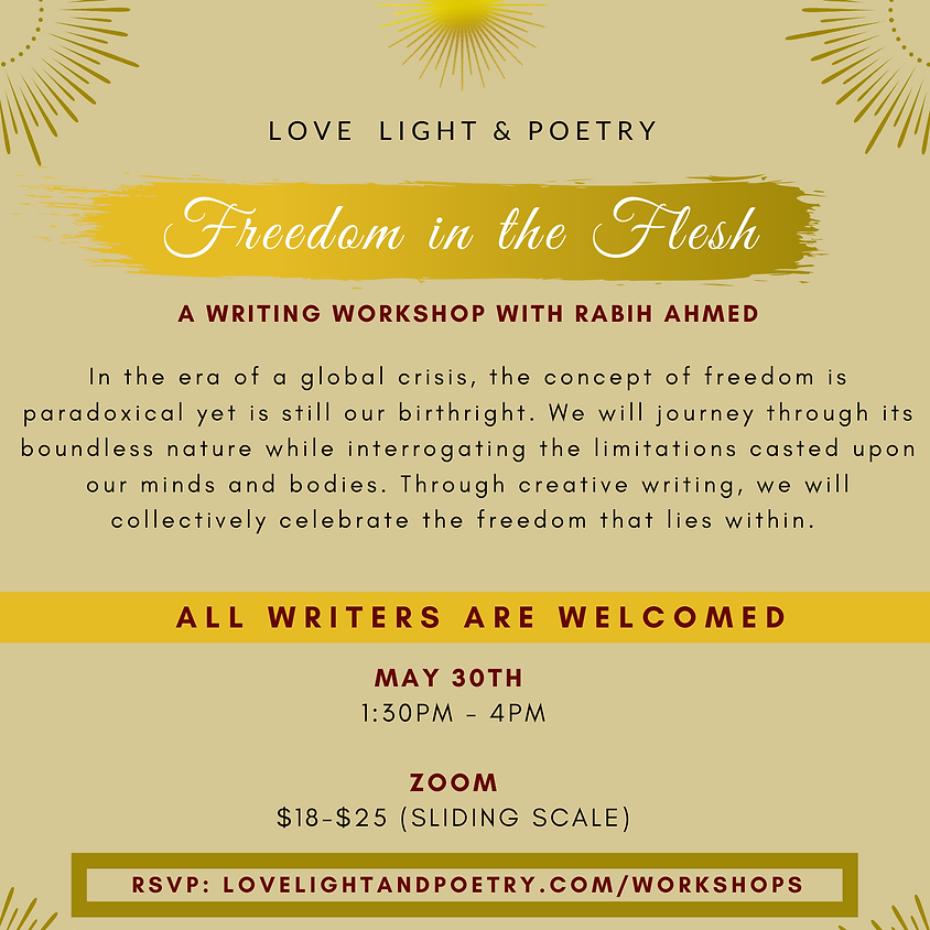 Freedom in the Flesh Writing Workshop