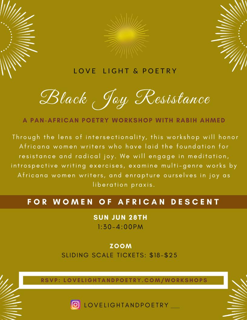 Black Joy Resistance