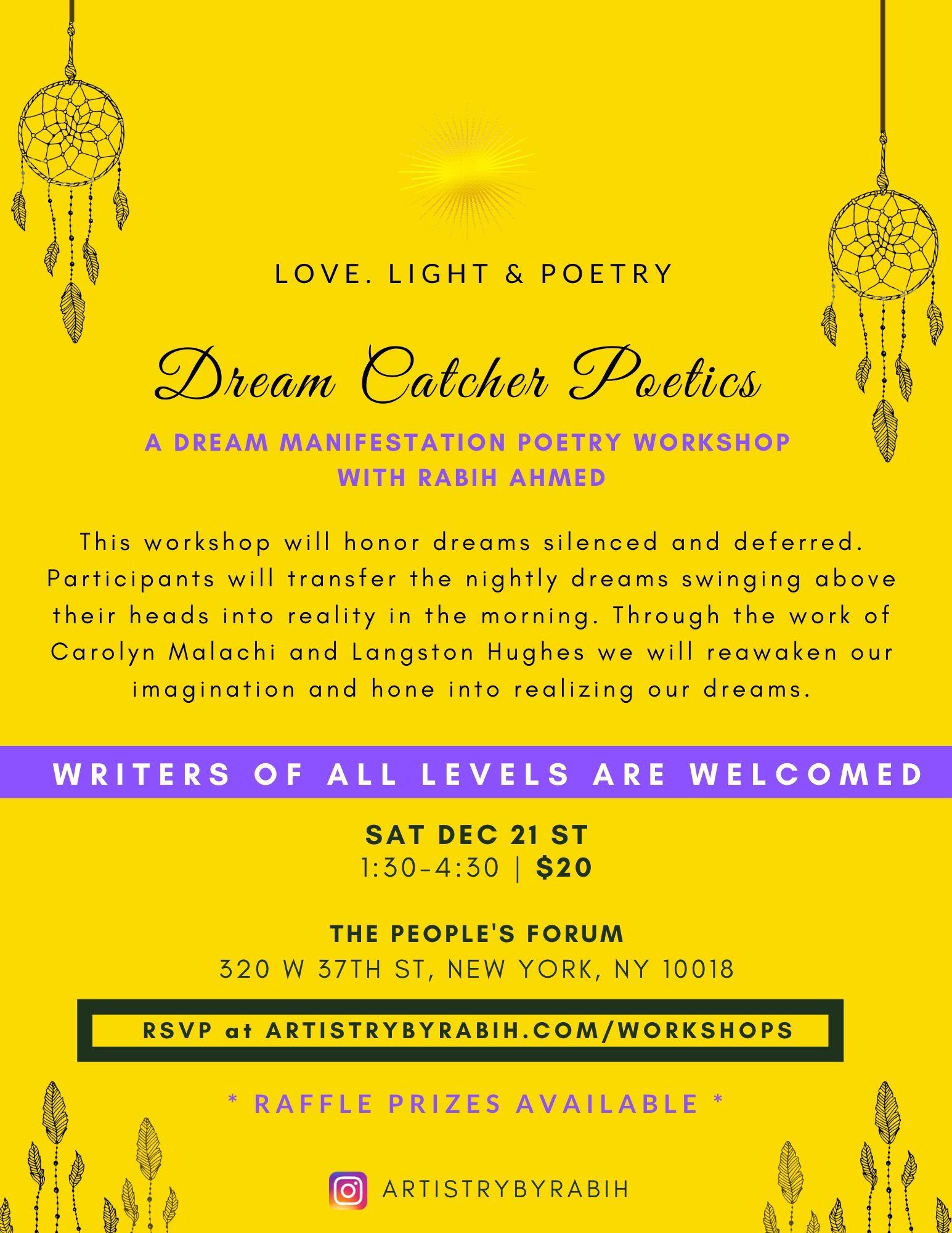 1-Dream Manifestation Poetics