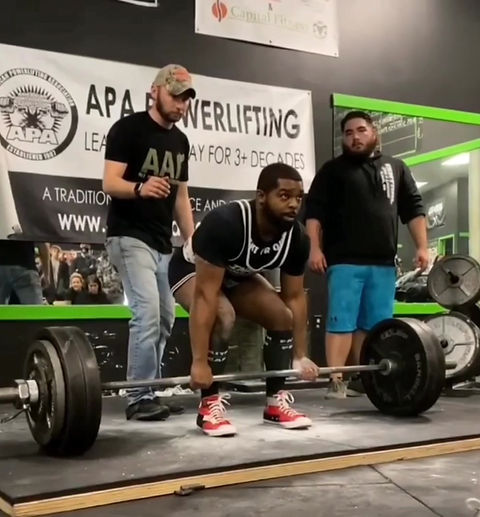 535-LB World Record Deadlift & 285-LB Bench