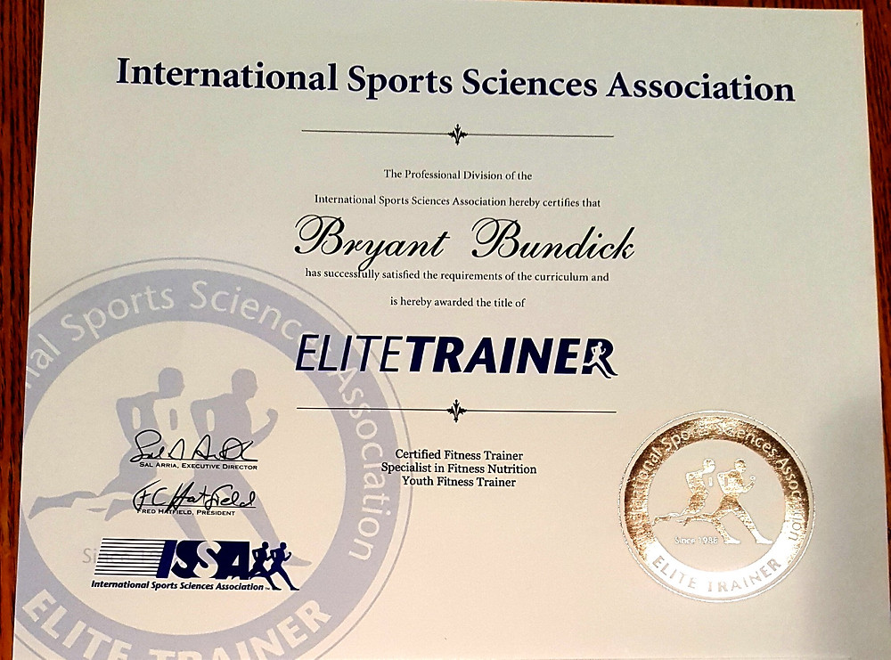 Bryant - Elite Trainer Certification Copy